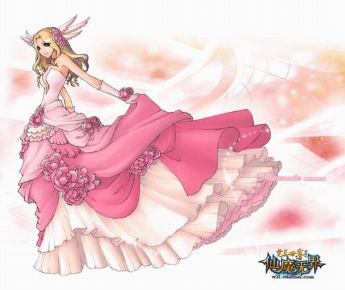 旗袍手绘设计图