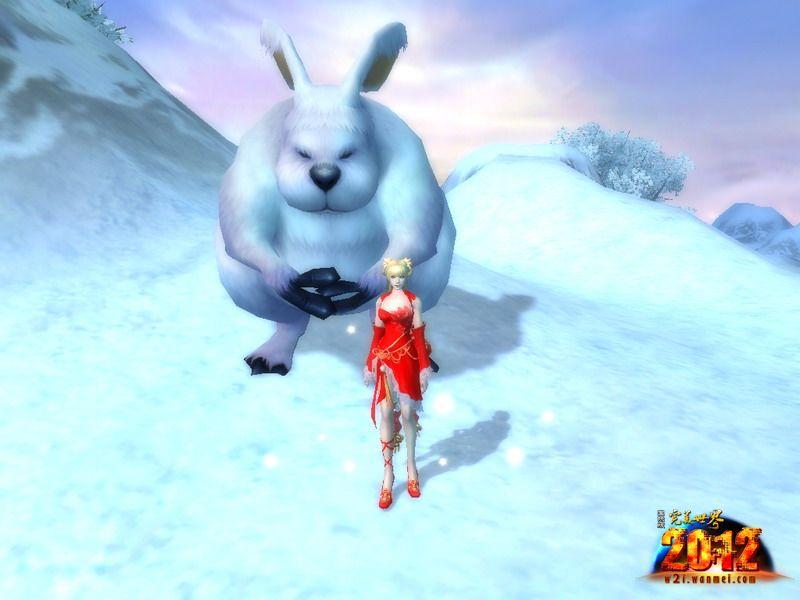 """今天是大年初二,又恰逢立春,想必热闹的新年气氛带给《完美世界国际版2012》所有玩家无限的欢笑和喜悦。嫦娥迎玉兔,欢乐过新年。今年是农历兔年,因此各种""""兔元素""""逐渐流行起来,带着吉祥如意的美好寓意走进我们的生活。兔子一直因其温顺、机敏的形象受到人们的喜爱,在《完美世界国际版2012》中,""""兔元素""""更是开启了新年""""萌""""潮流,多种""""兔元素""""陪伴玩家度过一个欢乐祥和的兔年! 可爱妖精兔女郎 在《完美世界国际版2012"""