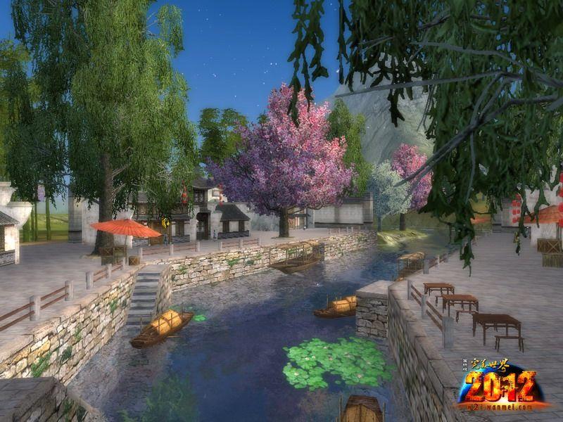 在《完美世界国际版2012》中,有着许许多多的诱人美景,青山秀水,繁华城镇,无一不让人赞叹折服。百花齐放的春天已经到来,冬日的寒冷一扫而光。《完美世界国际版2012》中最著名的旅游景点桃源镇已经做好了迎接广大游客的准备,带上你的爱人一起来欣赏这春日的美景吧。 桃花被人们赋予了爱情的含义,桃花能给人带来爱情的机遇。古人三月游春,更是写下了无数赞美桃花的诗句。满树和娇烂漫红,万枝丹彩灼春融,正是对桃花的描述。单身的玩家一定不要错过来桃源镇赏桃花的好时机,也许在这里你就能碰到桃花运哦,浪漫的爱情就从此刻开始。