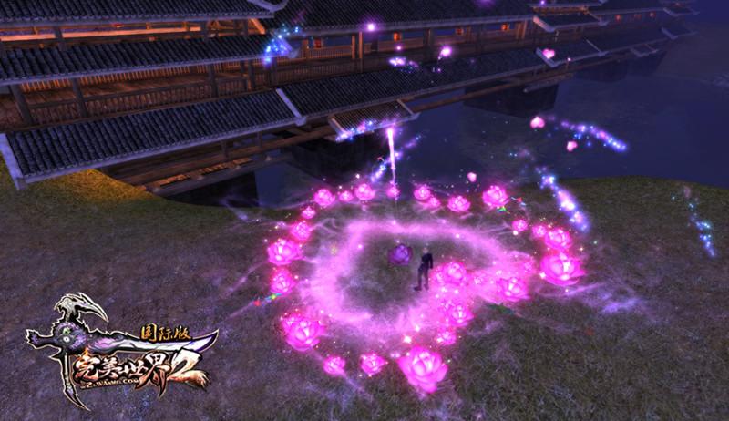 《完美国际2》七夕烟花为你燃遍祖龙城!