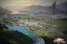 壁纸:白帝城全景