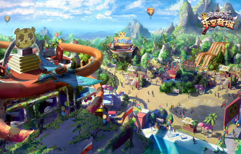 图片: 图2:奇乐冒险王国原画图.jpg