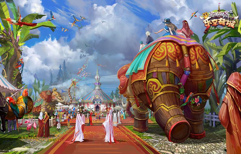 图片: 图3:奇乐冒险王国原画图.jpg