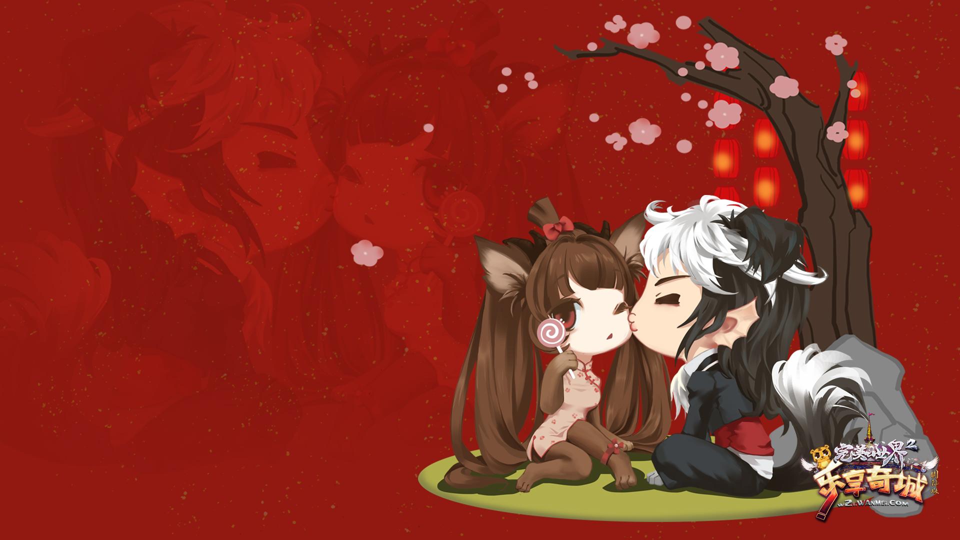 月仙+巫师(约克夏+边牧)