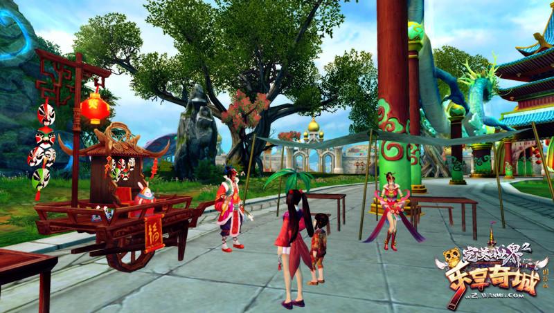图片: 图2:逛元宵庙会,看把戏.jpg